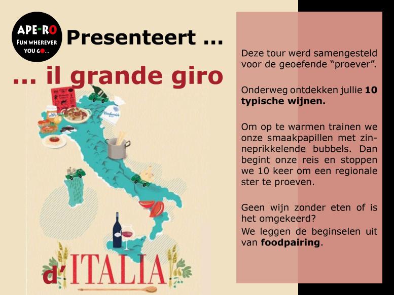 #Ape-ro mobiele bar_Italiaanse wijn2_Grande giro
